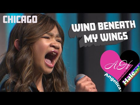 """Angelica Hale Singing """"Wind Beneath My Wings"""" - 2018 Chicago Fresenius Conference"""