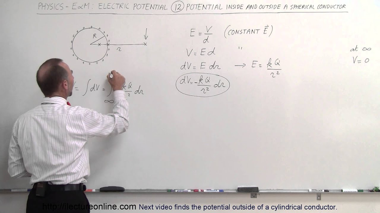 Physics E Amp M Electric Potential 12 Of 22 Potential In