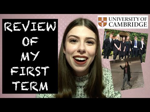 CAMBRIDGE UNI FIRST TERM REVIEW!