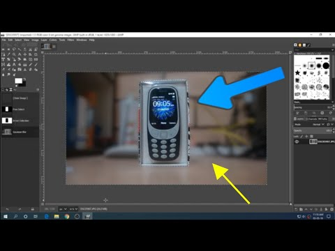 How to Add Portrait Effect to Images in GIMP thumbnail