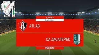 PES 2018 | Atlas vs Zacatepec | Jornada 1 Copa Mx | Gameplay PC