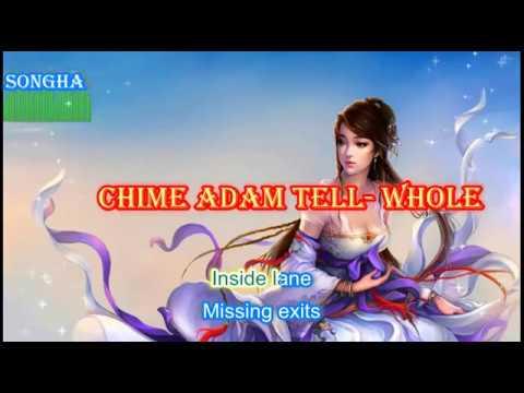 Chime Adam Tell-  Whole (Rob Gasser Remix)[ NCS Release][karaoke lyrics]