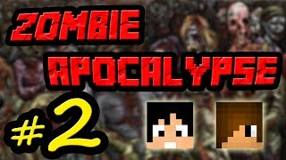 Tackle⁴⁸²⁶ Minecraft Custom Map - Zombie Apocalypse #2 (สวน Zombie)