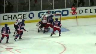 Derek Boogaard slapshot goal 11/9/10