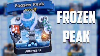 Let's Play Clash Royale #46: FROZEN PEAK! & New Card Unlock