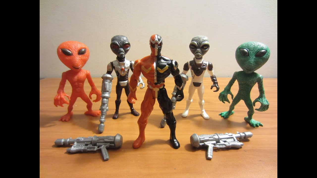 5 Dollar Toys : Alien power review dollar store toys youtube