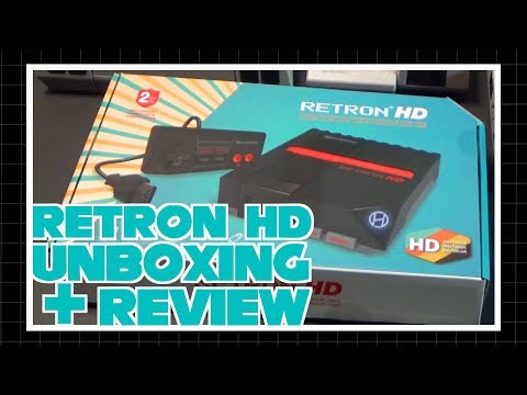 Retron HD Unboxing and Review