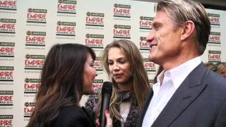 Dolph Lundgren & Hollywood A-Listers at The Jameson Empire Film Awards 2012