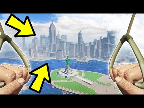 YOU CAN GET TO LIBERTY CITY IN GTA 5!!