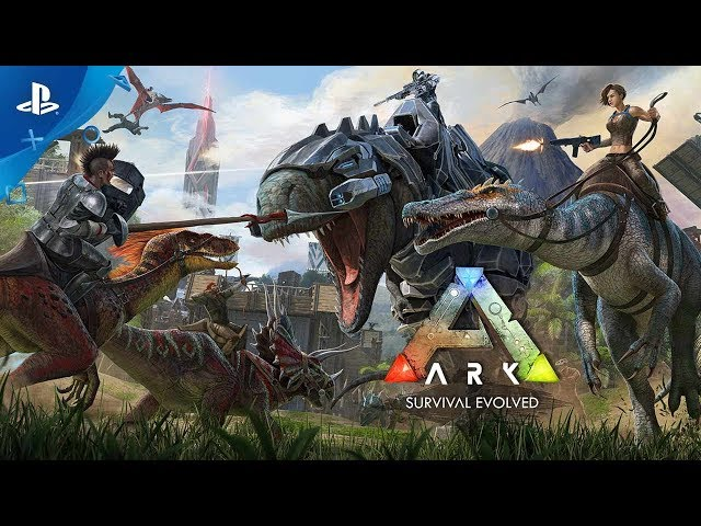 ARK: Survival Evolved - Launch Trailer | PS4
