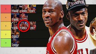 Ranking Every Season of Michael Jordan's Career