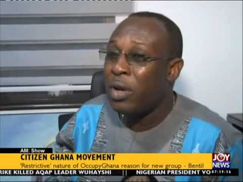 Citizen Ghana Movement - AM Show on Joy News (16-6-15)