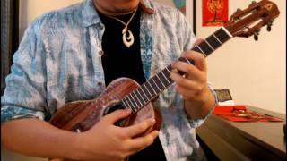 George Benson 〈Nothing's Gonna Change My Love for You〉(此情永不渝) Ukulele Solo演奏教學 Tutorial-A