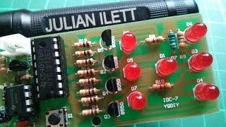 Easy LED Dice - Electronic Kit Build