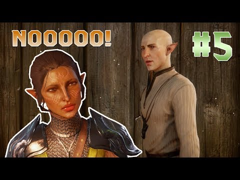 ACCIDENTAL FLIRT WITH SOLAS | Dragon Age: Inquisition