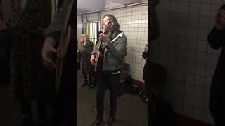 Hozier - Almost (Sweet Music) (Pop-up Show in NYC Subway)