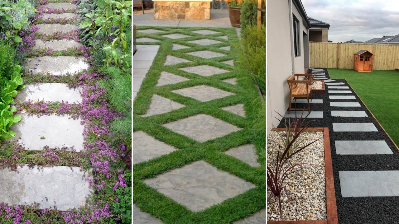 10 Garden Paving Ideas Youtube