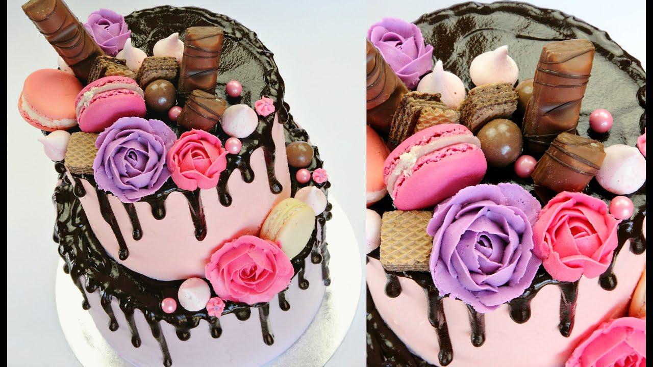 Decorating Cake With Strawberries Ideas - Elitflat