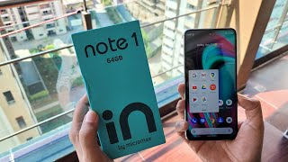 Micromax IN Note 1 Unboxing & First Looks with Camera Samples