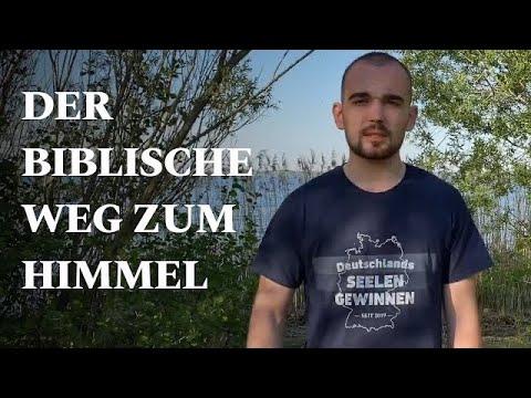 Der biblische Weg zum Himmel - The Bible Way to Heaven in German