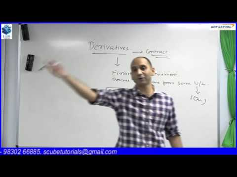 DERIVATIVES BY MR. AMIT PARAKH (CA, CS, CFA, FRM, IIM-A)