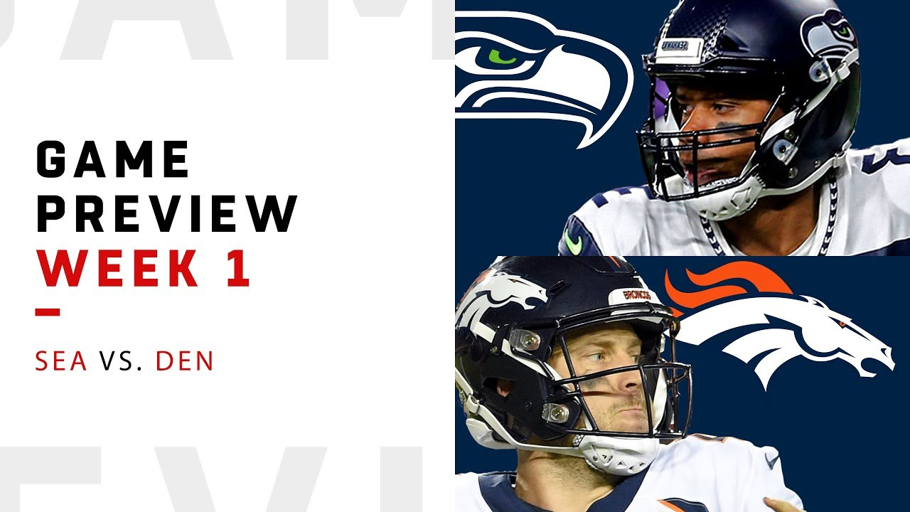 new arrival af8c9 3eadc Seattle Seahawks vs. Denver Broncos | Week 1 Game Preview | NFL Film Review