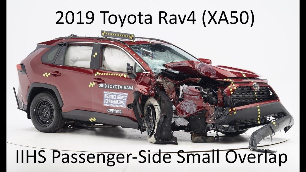 2019 2020 Toyota Rav4 Iihs Penger Side Small Overlap Crash Test