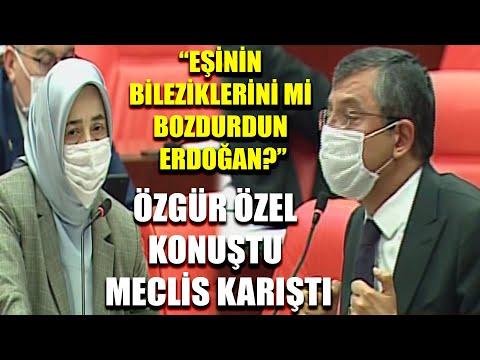"""Özgür Özel Konuştu Meclis Karıştı! """"Eşinin Bileziklerini Mi Bozdurdun Erdoğan?"""""""