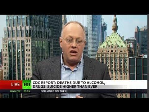 Chris Hedges: U.S. record suicides prove economic decline