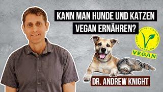 Kann man Hunde und Katzen vegan ernähren? • Dr. Andrew Knight