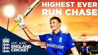 England's Highest Successful ODI Run Chase: England v New Zealand 4th ODI 2015 - Extended Highlights