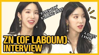 [Showbiz Korea] I am ZN of LABOUM(지엔, 라붐)! Interview for the web drama 'A Ghost I Know(아는 귀신 형)'