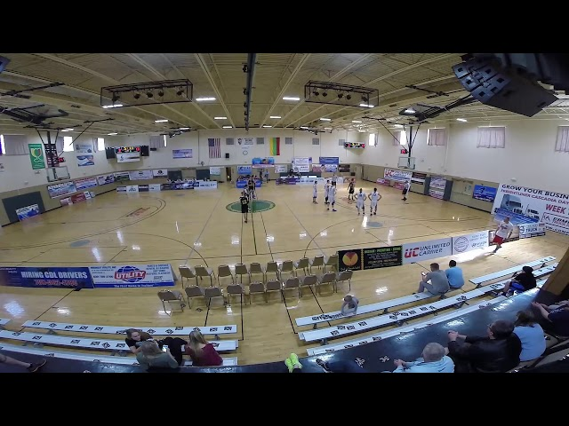 Basketball Semifinals B league Lietava vs Lituanica Jr  CLKL Lithuanian Basketball League in Chicago