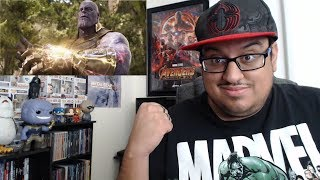 Own Marvel Studios Avengers Infinity War REACTION!!