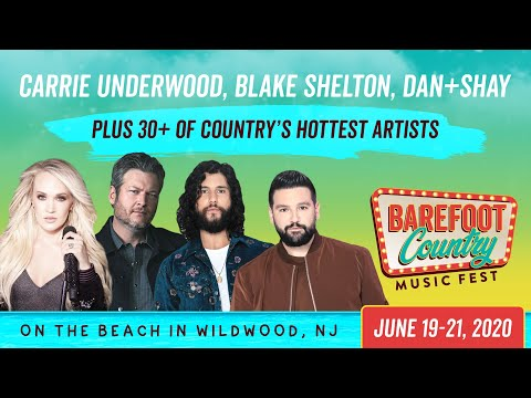 Barefoot Country Music Fest 2020 - Tickets On Sale Now!