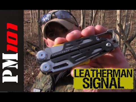 Leatherman Signal: Wilderness Survival Multitool - Preparedmind101