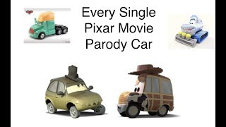 Every Single Disney Cars Pixar Movie Parody Car Diecast Variant