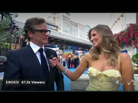 Funny Colin Firth Confesses He Loves To Sing and DanceMamma Mia 2 premiere London