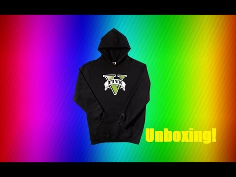 [Unboxing] Grand Theft Auto V Hoodie!