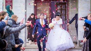 Свадебный клип невеста поет жениху 2016. Свадьба
