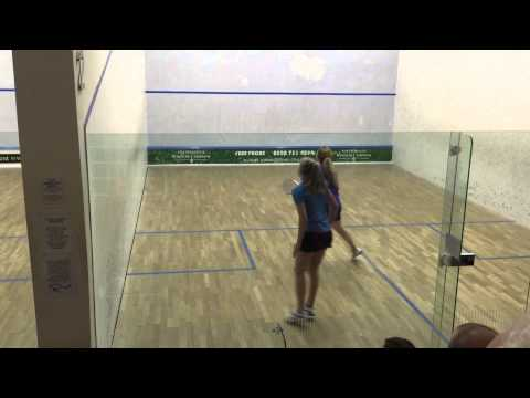 Gina Kennedy vs Alison Thomson Ken Cotton Memorial Final 8th Februay 2015 - The Parklangley Club
