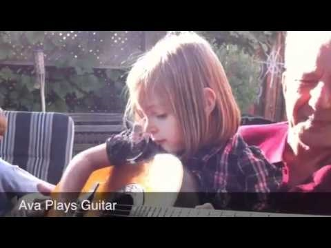 Ava Plays Guitar