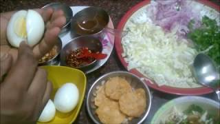 Burmese EGG Bejo Recipe | பர்மா உணவு முட்டை BEJO