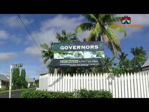 GORVERNOR'S RESTAURANT, SUVA CITY - TRIP FIJI PART 3