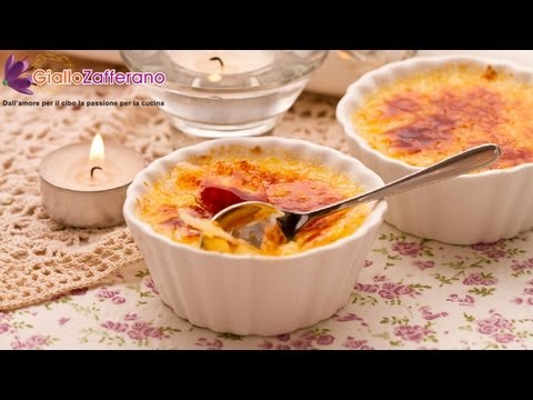 Creme Brulee Burnt Cream French Recipe Youtube