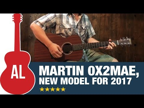 Martin 0X2MAE - How Does it Sound?