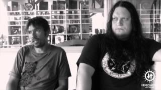 Bruce Soord [The Pineapple Thief] & Jonas Renkse [Katatonia] Wisdom of Crowds - Heavy Metal Artwork