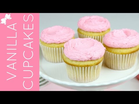 The Best Vanilla Cupcakes From Scratch Lindsay Ann Bakes