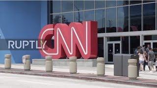 USA  Protesters decry 'fake news' outside CNN Atlanta HQ