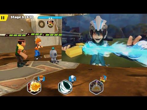 Boboiboy Galactic Heroes - Boboiboy Daun dan Kapten Kaizo